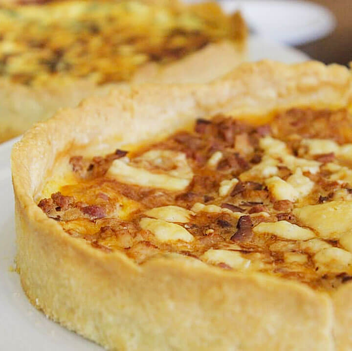 How to make a quiche : French Quiche Lorraine Recipe